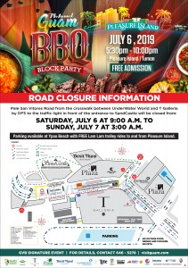2018 BBQ Block Party RoadClosure flyer